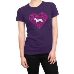 Doxie Heart Icons Tee Shirt